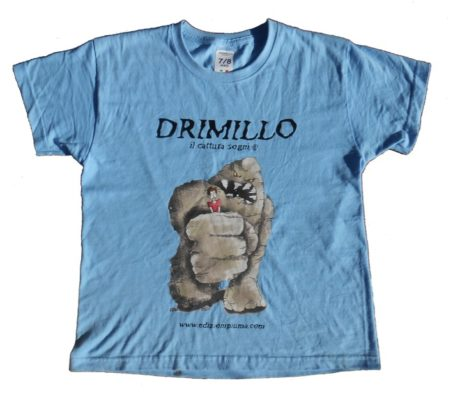 T-shirt Drimillo azzurra
