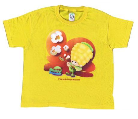 T-shirt Pips gialla